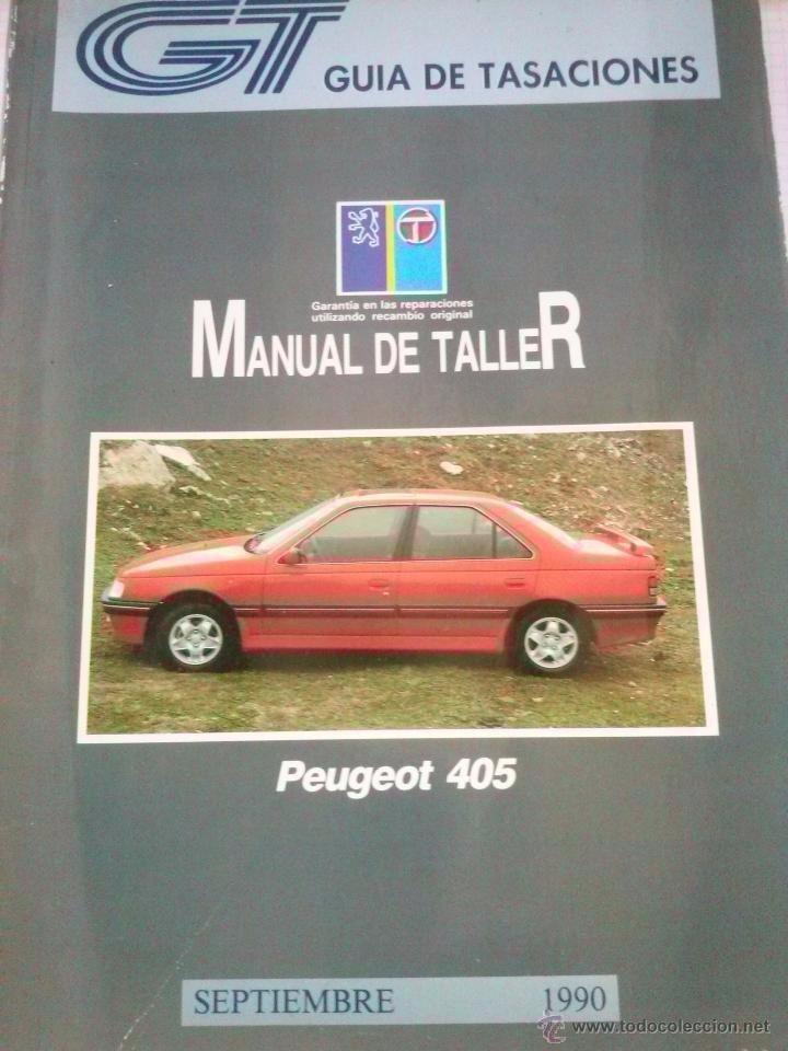manual de taller completo peugeot 405 todos del 87 al 01 210 00 rh articulo mercadolibre com ar manual de peugeot 405 gratis en español manual peugeot 405