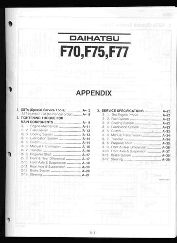 manual de taller daihatsu rocky (1984-1998) envio gratis