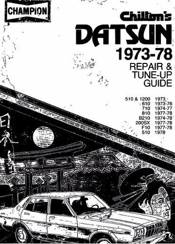 manual de taller datsun 710 (1973-1977) envio gratis