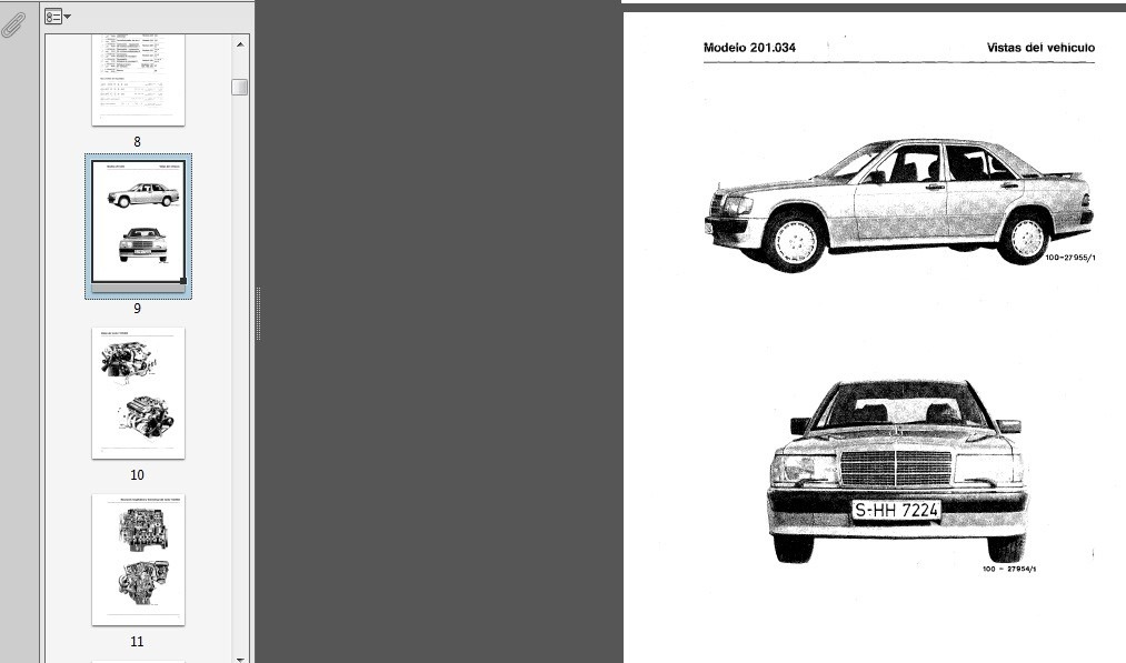 manual de taller de mercedes benz 190 e 3 990 en mercado libre rh articulo mercadolibre cl Manual Black Mercedes -Benz 2009 Mercedes E350 Manual