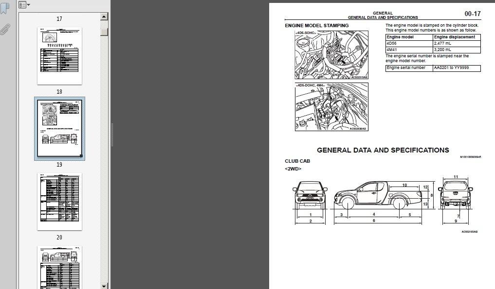 manual de taller de mitsubishi l200 4 990 en mercado libre rh articulo mercadolibre cl manual de mantenimiento mitsubishi l200 manual de taller mitsubishi l200
