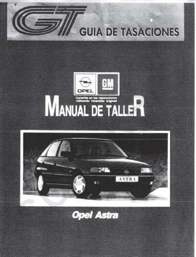 manual de taller de opel astra 1993 1998 espa u00f1ol   4 manual de taller opel astra g 2002 (español) manual de taller opel astra g 1.6 8v
