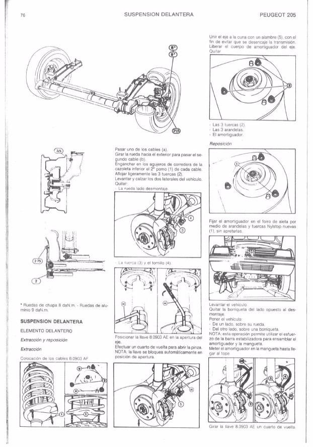 manual de taller de peugeot 205 en espa ol 3 800 en mercado libre rh articulo mercadolibre cl Peugeot 305 manual de peugeot 205 en español gratis