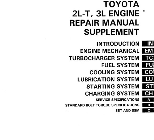 manual  de taller de toyota hilux 1990 - 1998