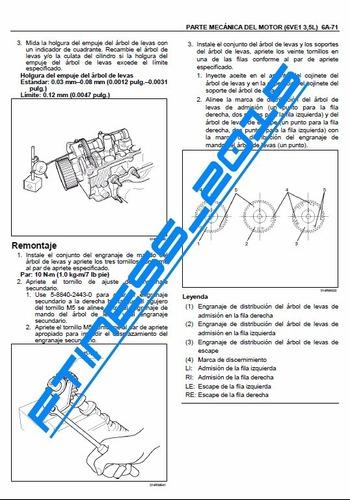 manual de taller diagramas e chevrolet luv dmax español full