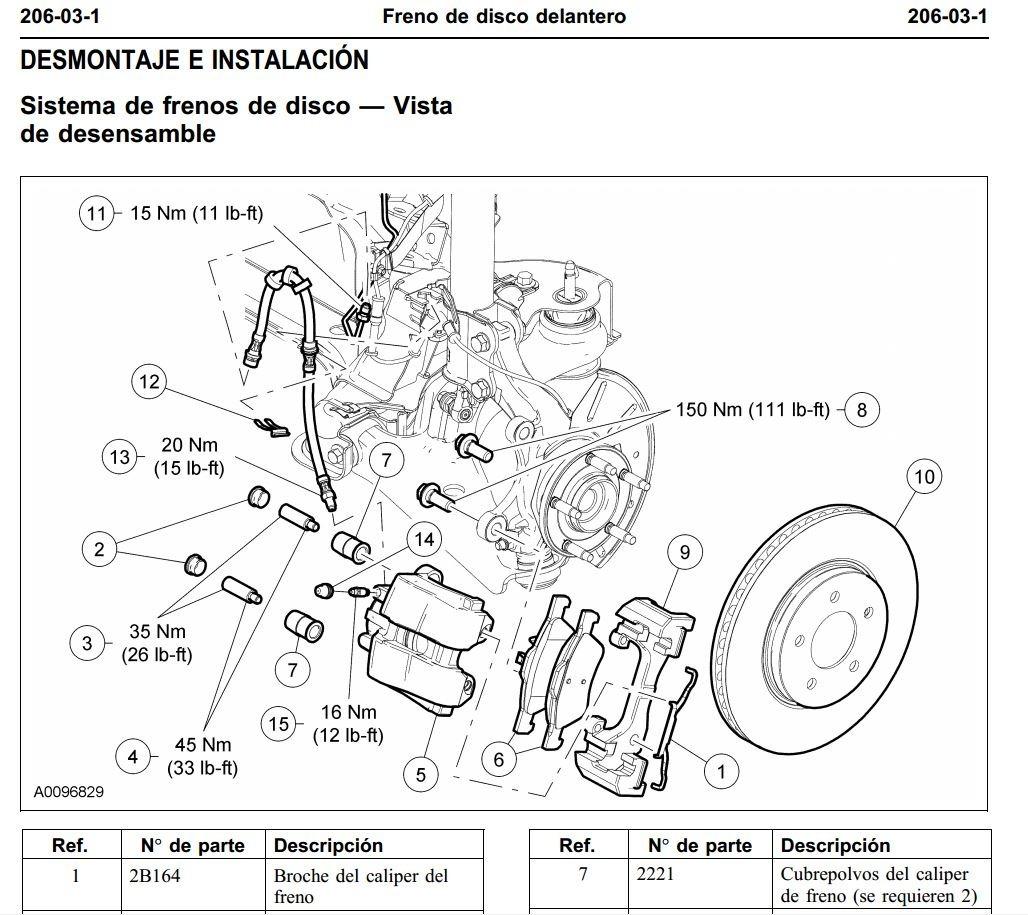 Manual De Taller Diagramas Ford Escape 2001-2007 Espa U00f1ol