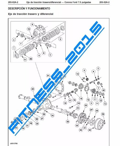 manual de taller diagramas ford ranger 1998 - 2002