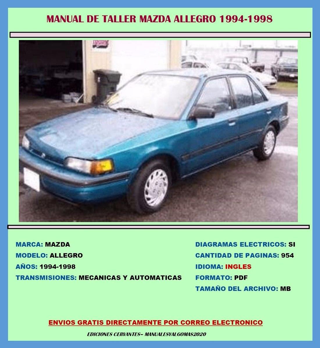 Manual De Taller   Diagramas Mazda Allegro 1994