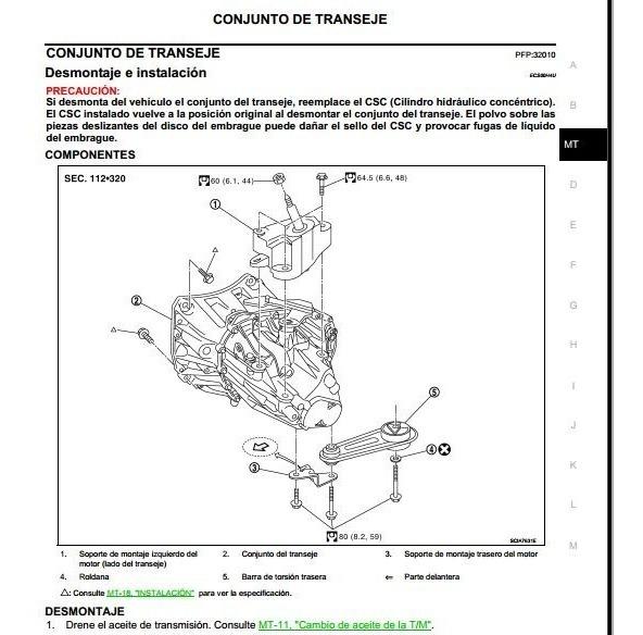 Manual De Taller Diagramas Nissan Tiida 2004