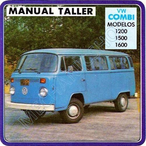 manual de taller español vw combi transporter 1981