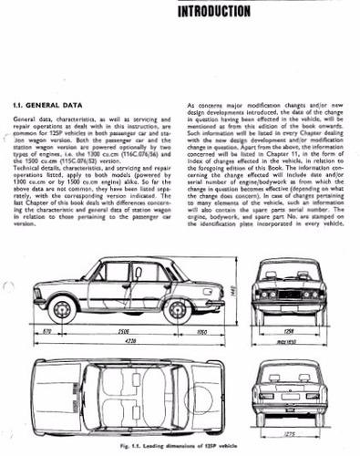 manual de taller fiat 125p 1967-1991 envio gratis