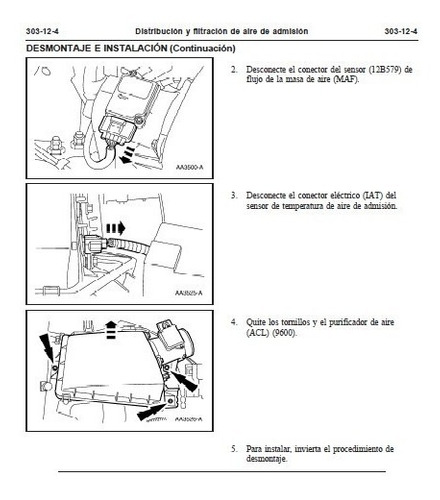 manual de taller ford crown victoria (1998-2011) español