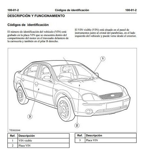 manual de taller ford mondeo + de 2500 paginas