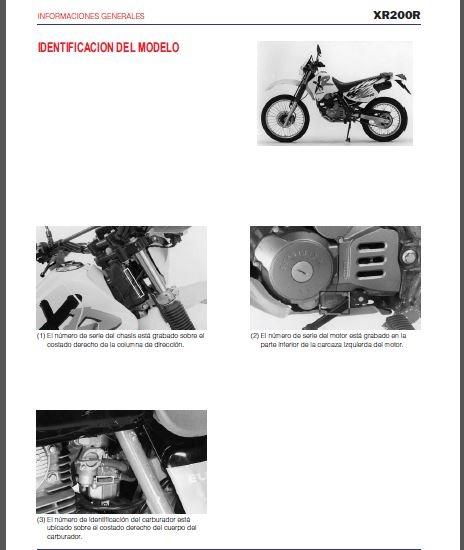 manual de taller honda xl 200 gratis