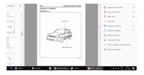 manual de taller hyundai accent (1999-2005) español