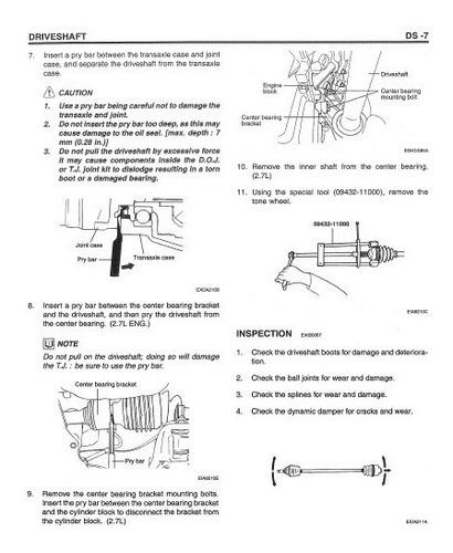 manual de taller hyundai coupe tiburon (2001-2009) ingles