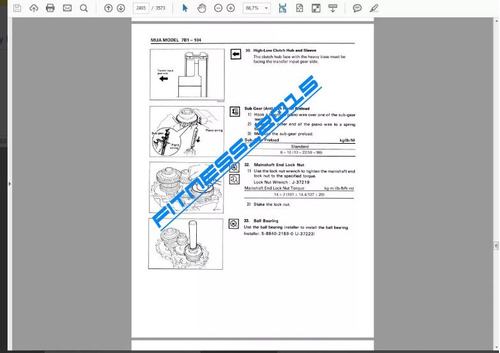 manual de taller isuzu trooper ii 1998-2002