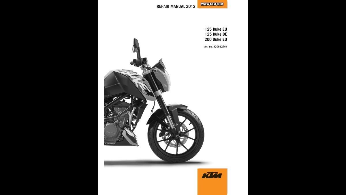 manual de taller ktm duke 200 - formato pdf. Cargando zoom.