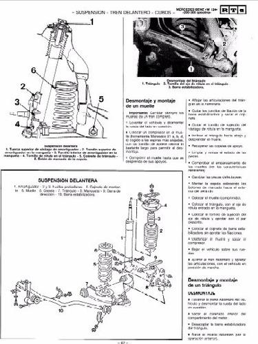 manual de taller mercedes benz 260 (1984-1992) español