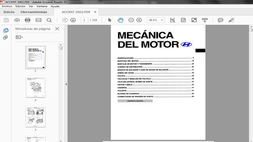 manual de taller motor hyundai accent 2002 pdf español
