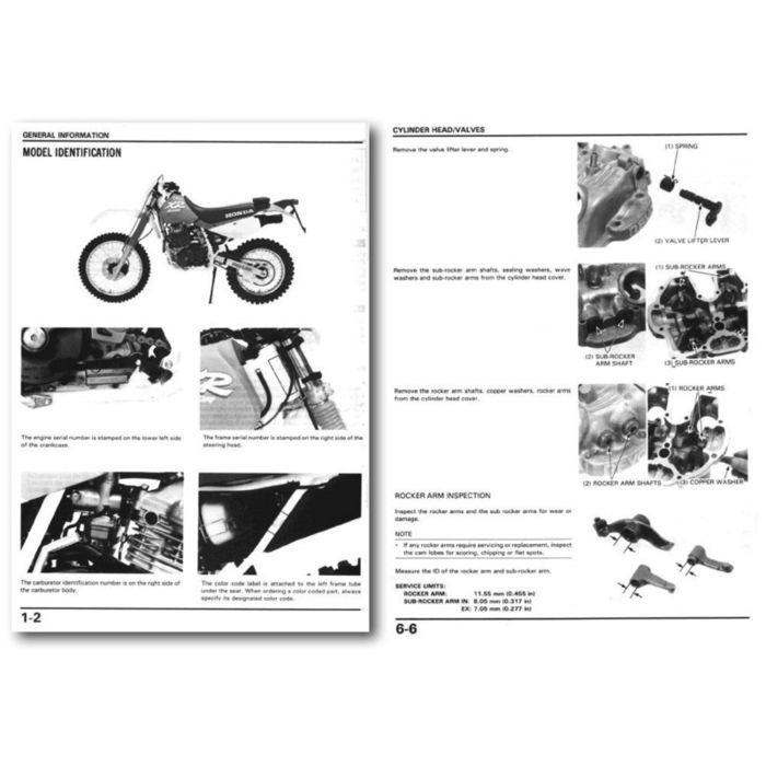 manual de taller para honda xr 250 tornado 100 00 en mercado libre rh articulo mercadolibre com ar Honda XR 80 manual de taller honda xr 250 tornado gratis