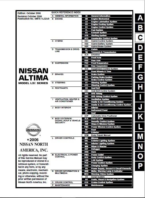 Manual De Taller Nissan Altima 2013 Manual Guide