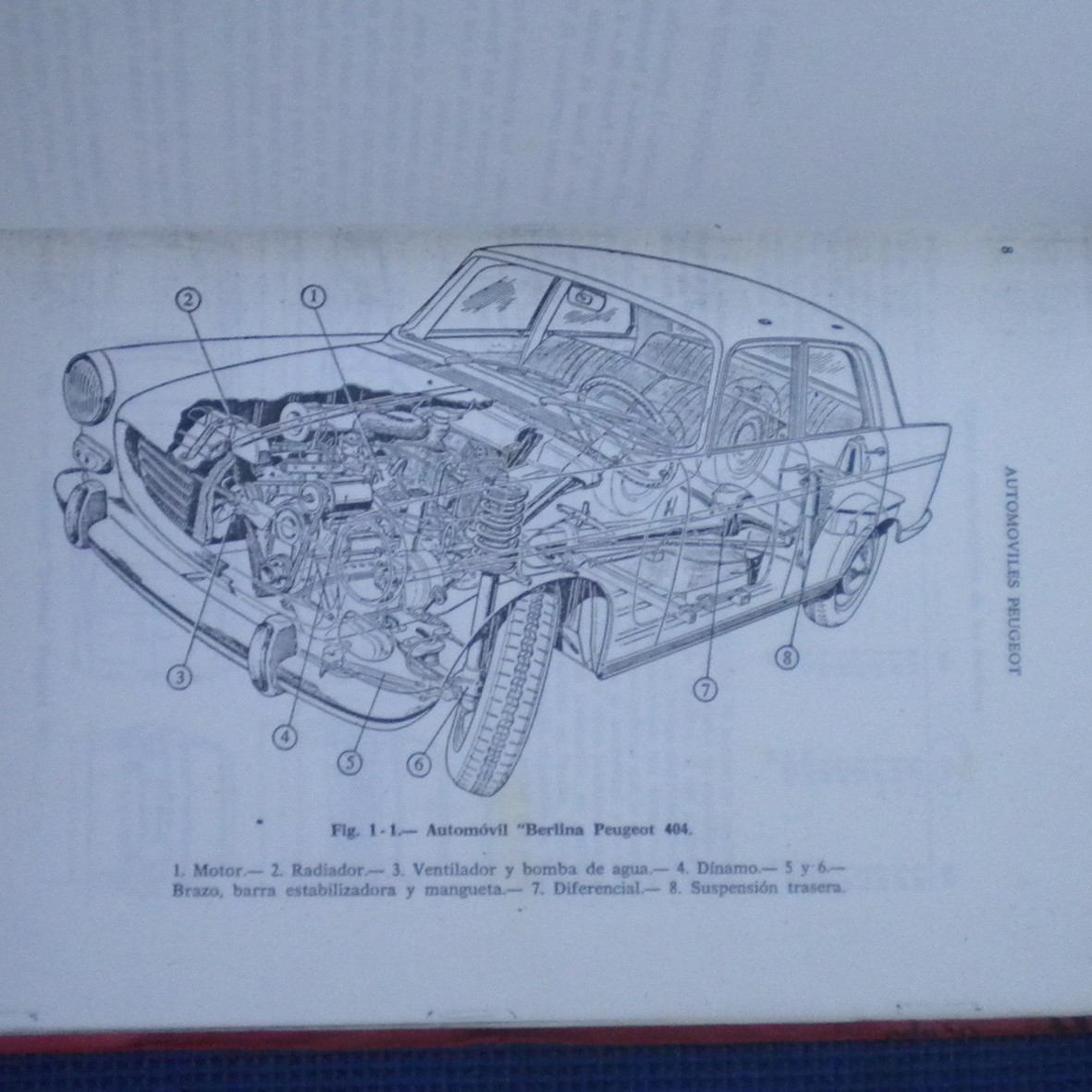manual de taller peugeot 404 504 304 wenceslao varela 15 000 rh articulo mercadolibre cl Peugeot 406 Peugeot 707
