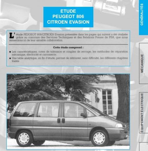 manual de taller peugeot 806 1994 2002 1 950 en mercado libre rh articulo mercadolibre cl peugeot 806 manuel peugeot 806 manual free download