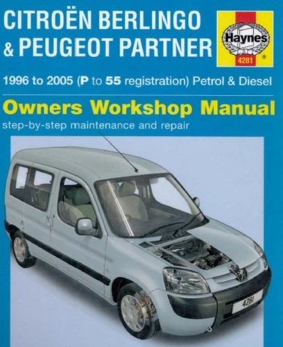 manual de taller peugeot partner (1996-2005) envio gratis