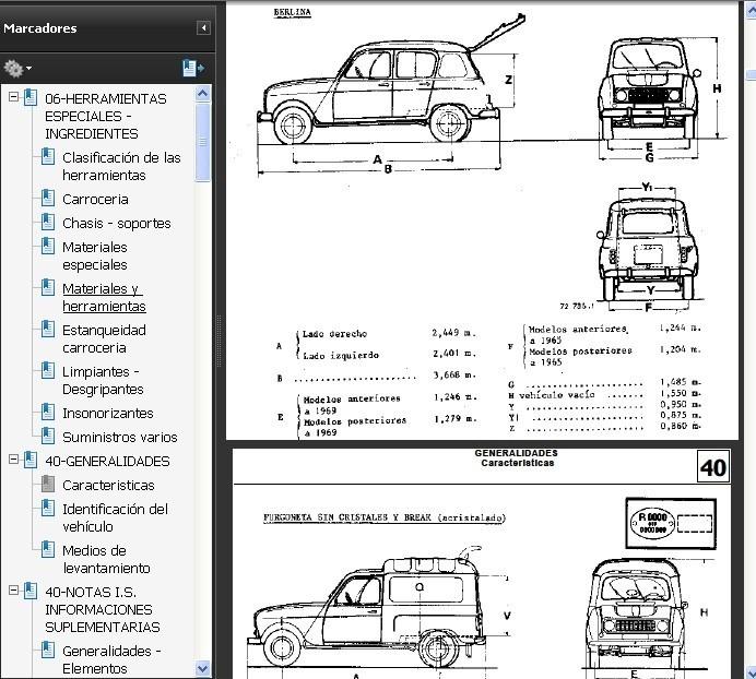 manual de taller renault 4 y renoleta - en espa u00f1ol
