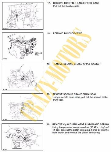 manual de taller - reparacion caja automatica toyota a240