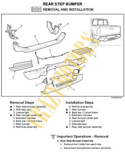 manual de taller - reparacion chevrolet luv dmax 2005 - 2009