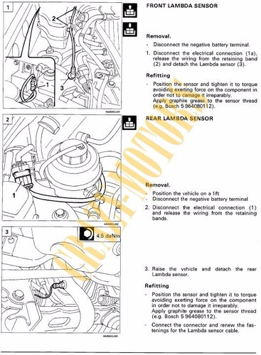 manual de taller - reparacion fiat bravo brava 1995 - 2007 *