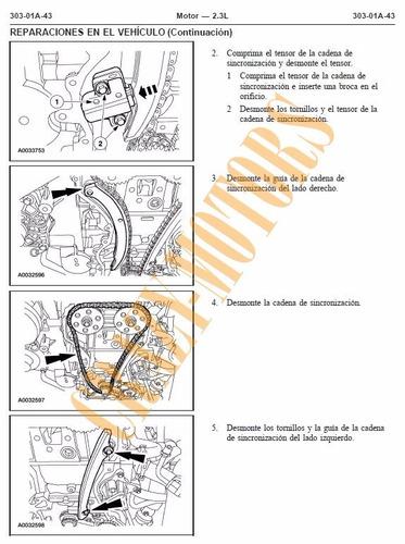 manual de taller - reparacion ford ranger 1998 - 2004 *