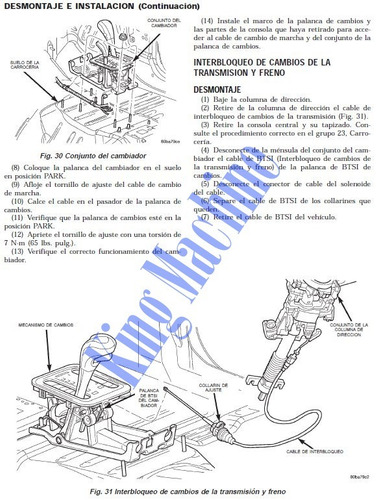 manual de taller - reparacion jeep grand cherokee 1999-2004