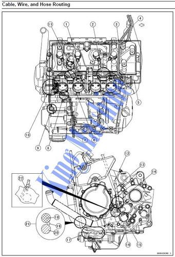 manual de taller - reparacion moto kawasaki concours 1400