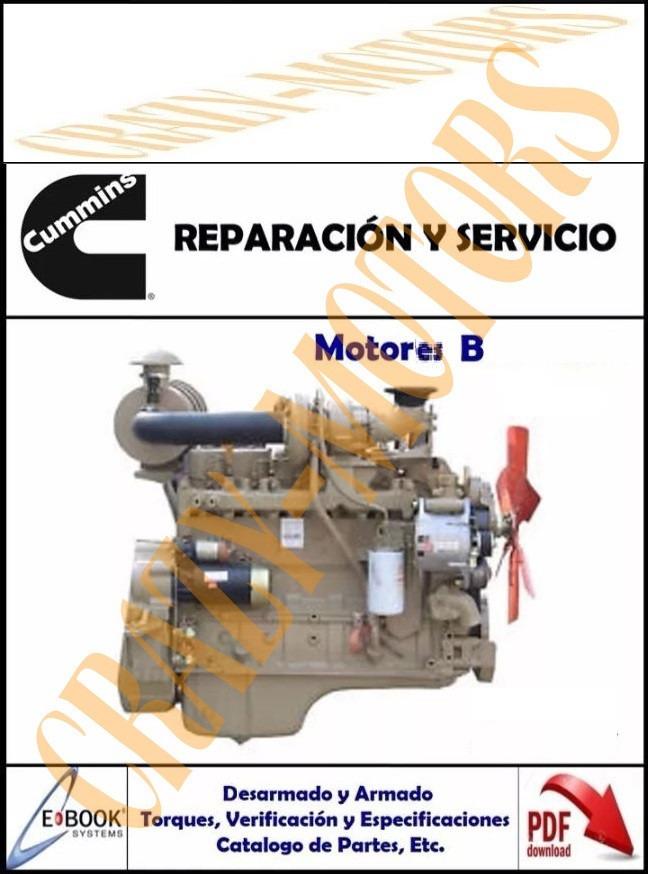 manual de taller reparacion motor cummins serie b 4bt 6bt rh articulo mercadolibre com co manual de reparacion motor cummins 4bt manual de partes motor cummins 4bt