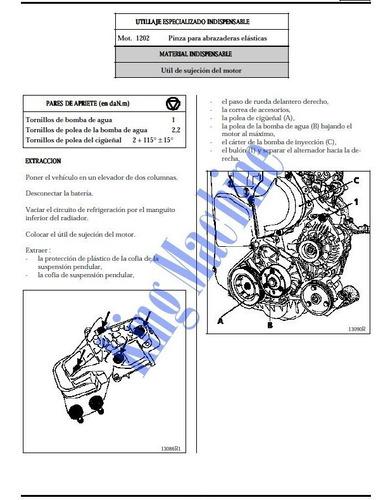 manual de taller - reparacion renault kangoo 1998 - 2012