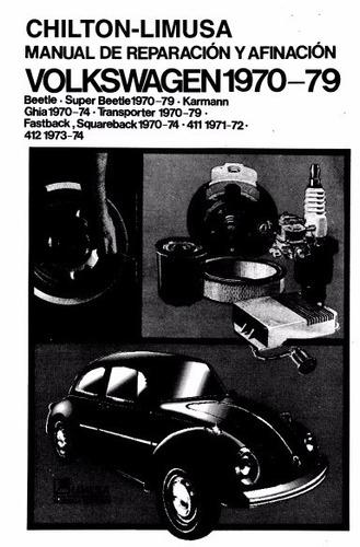 manual de taller, servicio y afinacion volkswagen escarabajo