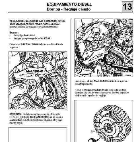 Manual De Taller Servicio Y Diagramas Renault Clio 2 Espa U00f1ol