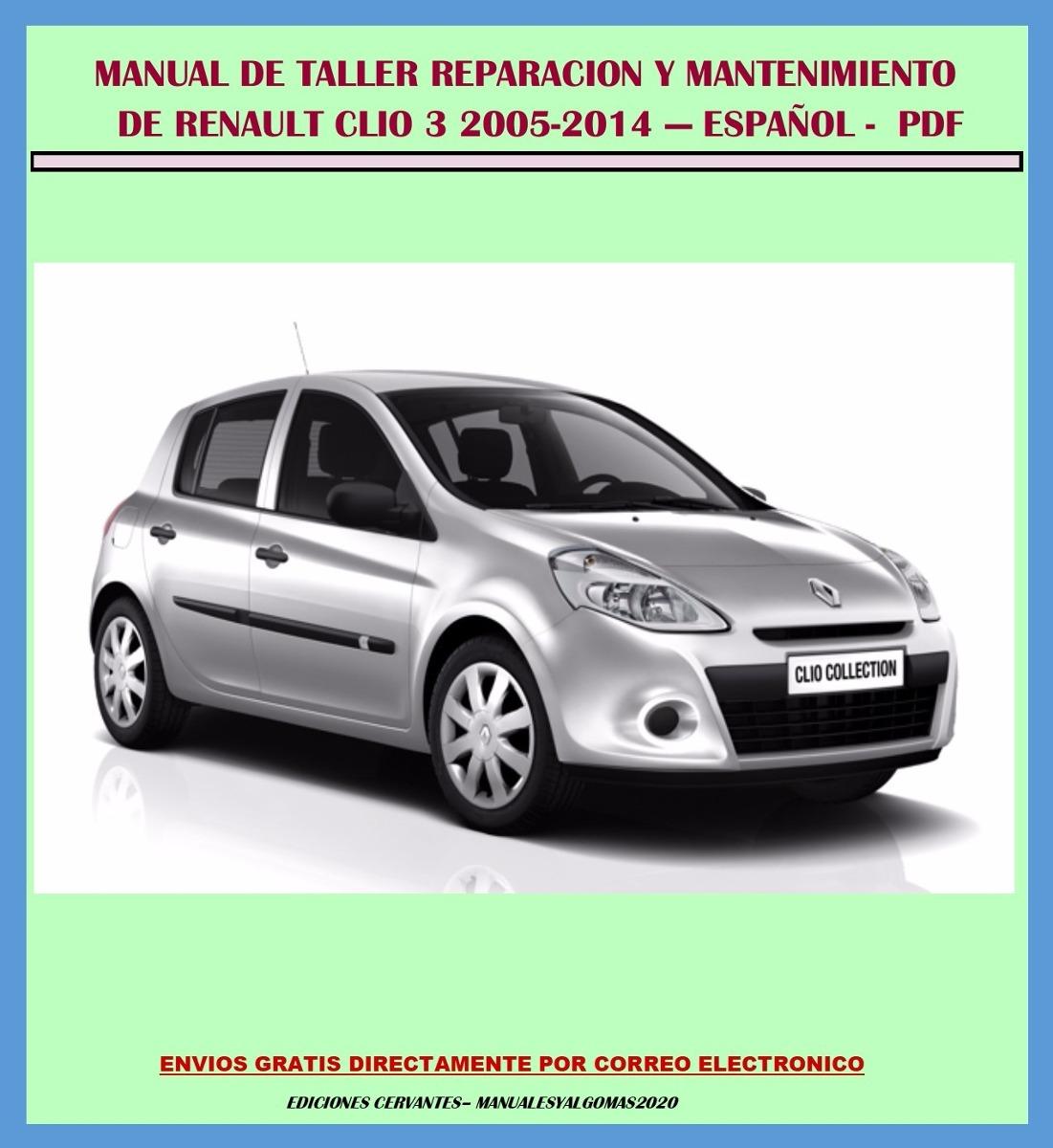manual de taller servicio y diagramas renault clio 3 espa ol bs rh articulo mercadolibre com ve clio 3 service manual pdf clio 3 service manual pdf