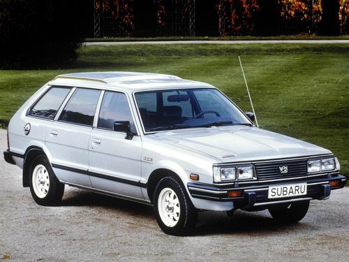 manual de taller subaru 1600 1800 series 1983