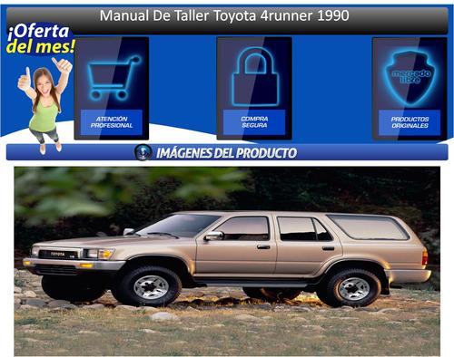 manual de taller toyota 4runner 1990