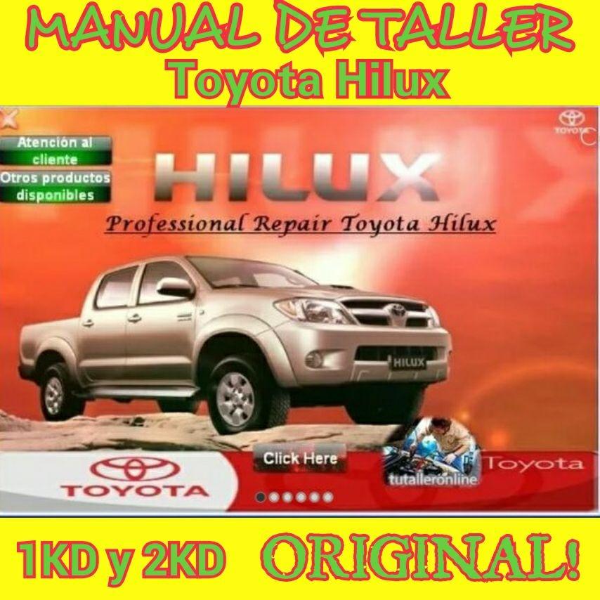 manual de taller toyota hilux 1kd 2kd original s 100 00 en rh articulo mercadolibre com pe manual de toyota hilux 2014 manual de toyota hilux 2008