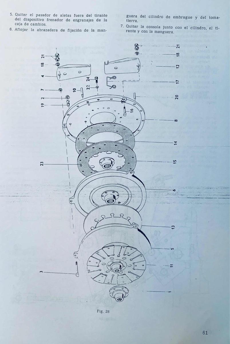 Manual De Taller Tractor Zetor 7245 Al 5211