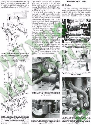 Manual De Taller Tractores Ford 1100 Hasta 2110 Tractor ...