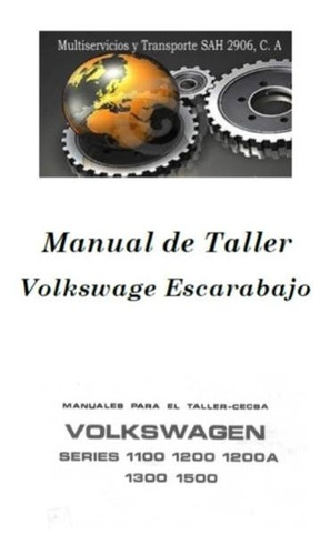 manual de taller vw escarabajo 1958 -1975 oferta