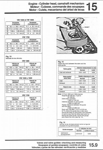 manual de taller vw kombi i,ii y mucho mas- cast. combi