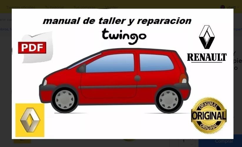 manual de taller y despiece de renault twingo s 11 00 en mercado rh articulo mercadolibre com pe manual de taller renault twingo manual renault twingo