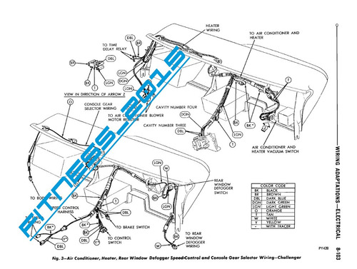 manual de taller y diagramas electricos dodge dart 1970 1973